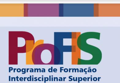 Inscrições ProFIS 2022