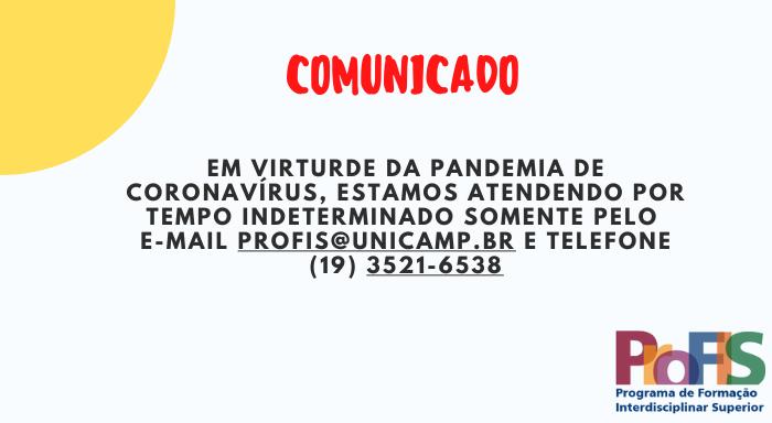 Comunicado ProFIS - versão 2