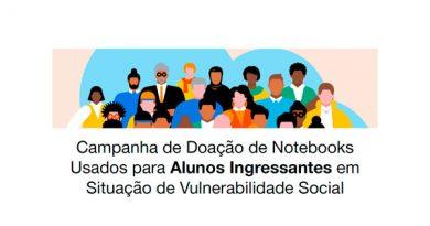 Campanha de Doação de Notebooks Usados para Alunos Ingressantes em Situação de Vulnerabilidade Social