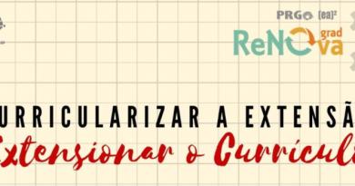 Ciclo – Curricularizar a Extensão, Extensionar o Currículo