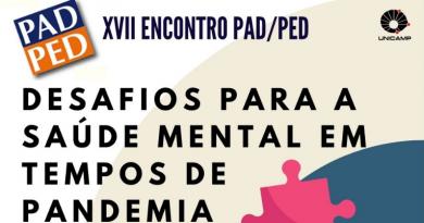 XVII Encontro PAD/PED